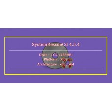 SystemRescueCd 4.5.4