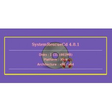 SystemRescueCd 4.8.1