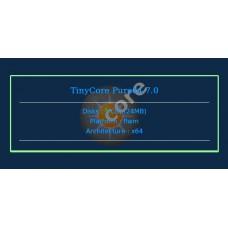 TinyCore Pure64 7.0