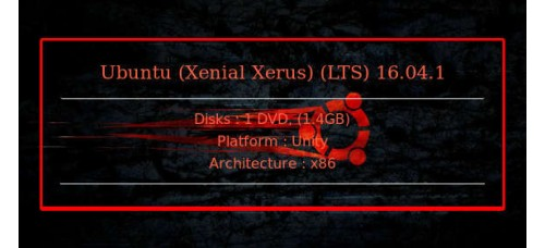 Ubuntu (Xenial Xerus) (LTS) 16.04.1 32bit