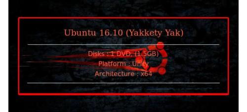 Ubuntu 16.10 (Yakkety Yak) 64bit