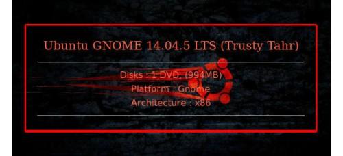 Ubuntu GNOME 14.04.5 LTS (Trusty Tahr) 32bit
